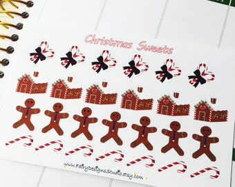 Christmas Sweets Planner Stickers