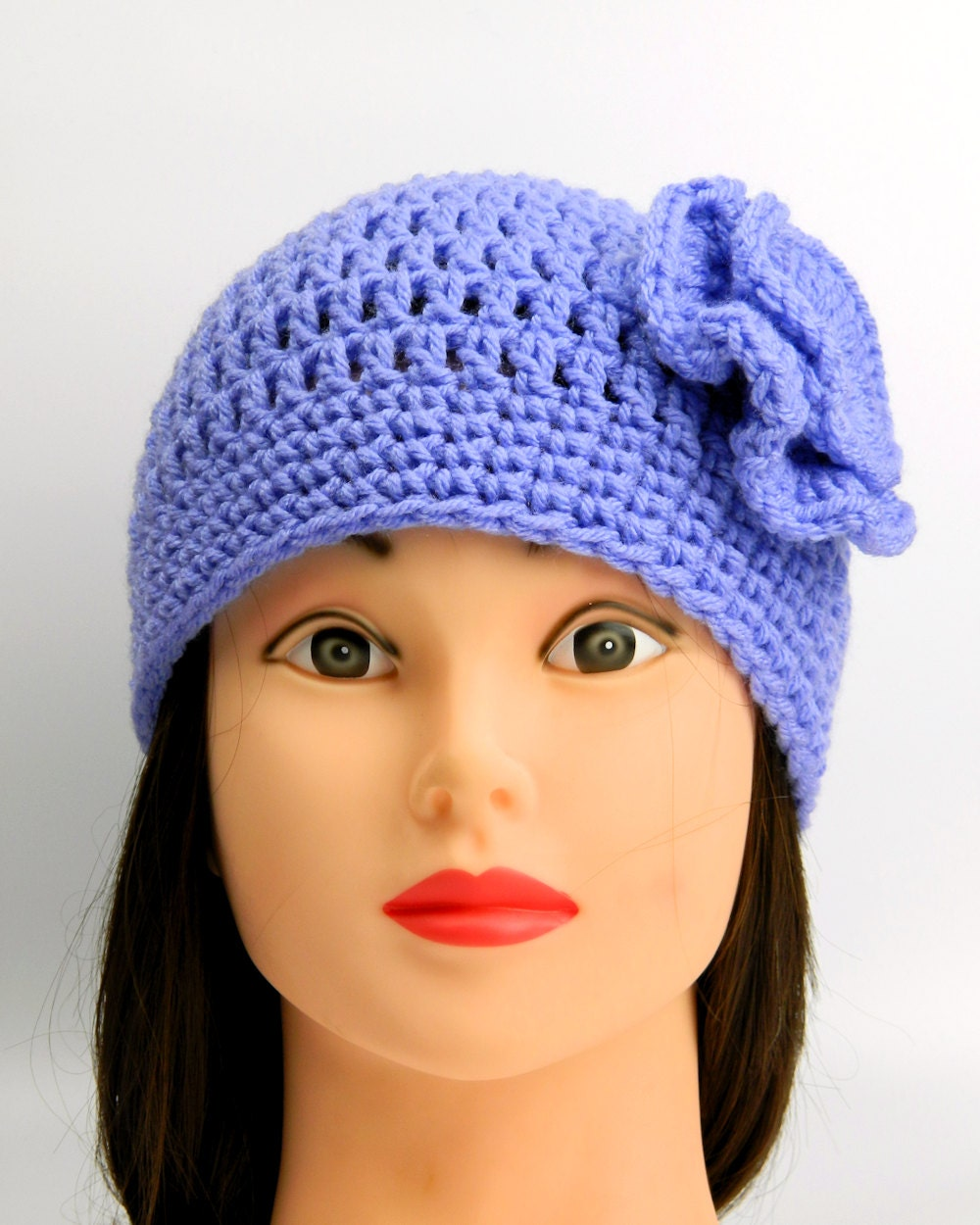 Crochet hat Adult hat Winter Hat Womens beanie Cute winter