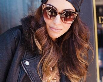 Headbands for Women, Fashion Headbands, Turban Headband, Hair Accessory, Hair Accessories, Womens Headbands, Hair Bands for Women,--Edie