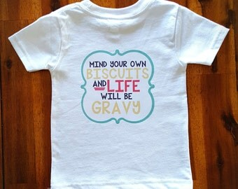 Biscuits & Gravy Infant/Toddler T-Shirt