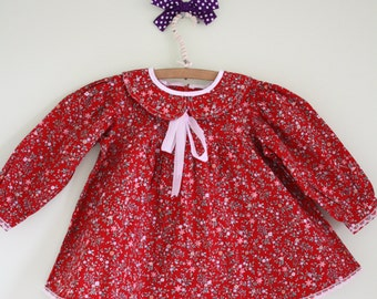Adorable Vintage Baby Girl Dress