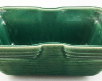 Vintage Jade Deco Tabletop Planter