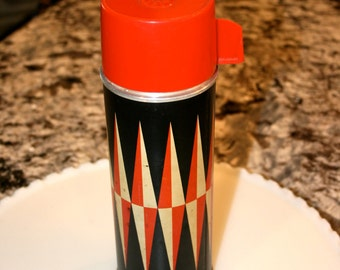 J. C. Higgins Retro Thermos//Made Exclusively For Sears//Vintage Retro Thermos