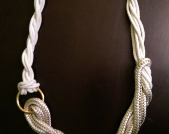 Oversize Rope Necklace