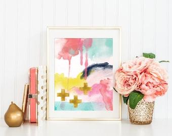 Abstract Art Print, Printable Art Print, Modern Wall Art, Minimalist Art, Modern Art Abstract, Minimalist Art, Modern Nursery Art, 8x10, #1
