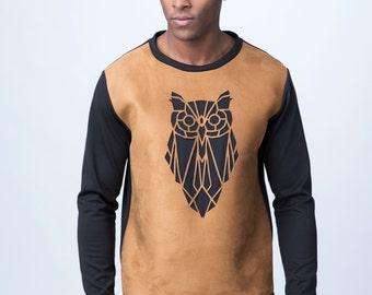 ANDY geometric Owl Sweatshirt