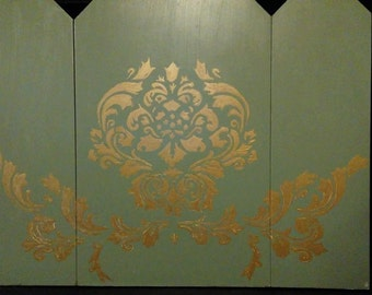 Three Panel Fireplace Screen