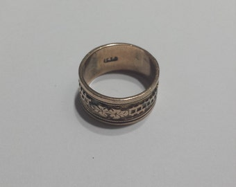 Victorian Antique 10K Yellow Gold Ring/Band