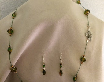 Knotted Opera Length Swarovski Crystal