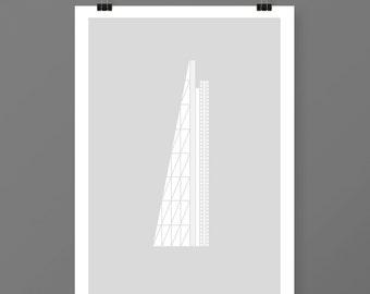 Leadenhall, Minimal, London Print