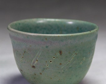 6oz Handmade ceramic tea bowl