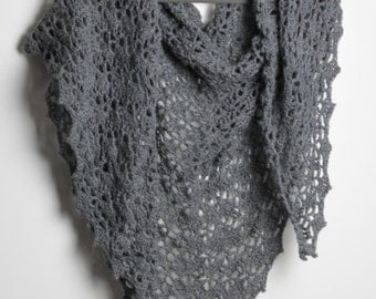 Hand-made soft and warm scarf