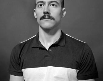 Portrait - 120 mm Black & White Print -- 8 x 10 print - 11 x 14 Frame.