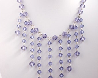 Sorceress Necklace with Swarovski Crystals