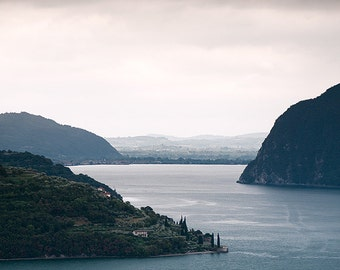 Glimpse of Lake Iseo