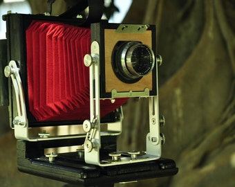 NEW Folding camera 4x5 inc. Made in Italy for collodion or film photography MCRCameras