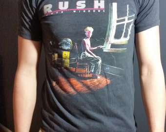 SALE !!! 1986 RUSH concert tee, Power Windows Tour