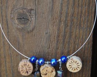Handmade Upcycled Wine Cork Choker Necklace