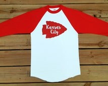 Youth Kansas City Chiefs  Red Squadron T-Shirt