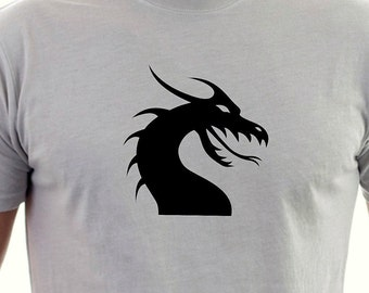 Dragons Head  printed T-shirt
