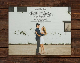 Photo Save the Date - Style 04 - Custom Save the Date Design, Print or Download
