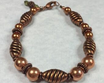 ALL COPPER BEADED Bracelet