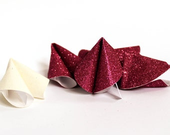 Hen Party Favours ~ Fortune Cookies ~ Glitter Paper Fortune Cookies ~ Wedding Favours ~ Talking Tables ~ Conversation Starters ~ Party ~