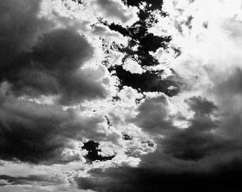 Lake Below the Silver Clouds