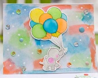 FREE SHIPPING***happy  handmade card/ new born/happy/ baby