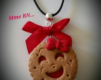 Necklace Ms. BN handmade Fimo