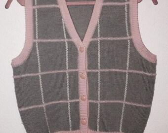 80s Knit Vest
