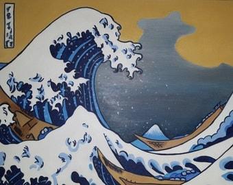 Katsushika Hokusai, the great wave off Kanagawa (1760 ~ 1849)
