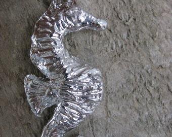 Pendant - Grand sea seahorse - silver