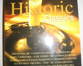 Historic Classics 50 Movie Pack on 12 double-sided DVDs