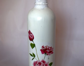 Painted & decorated Bottle