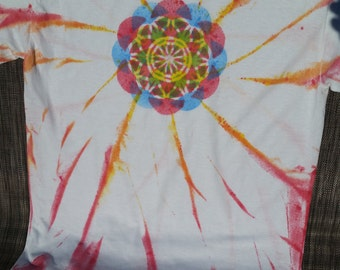 Flower Of Life Twist T-Shirt (RBY-YOR)