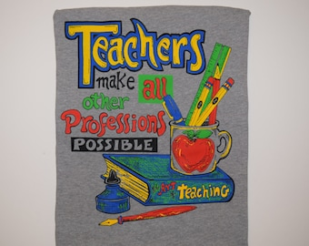 teachers/professions sweatshirt