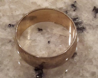 25 % OFF ... Vintage, Gold Plated, Wide, Wedding Band