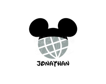 Personalized Mickey Mouse Epcot / Disney World Classic Disney Cheer Squad Team Family Vacation Disney Iron On Decal Vinyl for Shirt 041