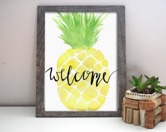 Welcome Home Pineapple