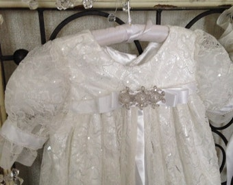 Christening Gown Girls - The Isabel Vintage Inspired Collection