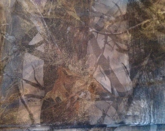 """54"""" wide Mosquito (No-see-um) netting Camouflage pattern by the yard."""