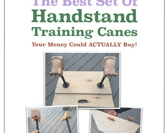 How To Make A Set Of Hand Balancing and Handstand Training Canes