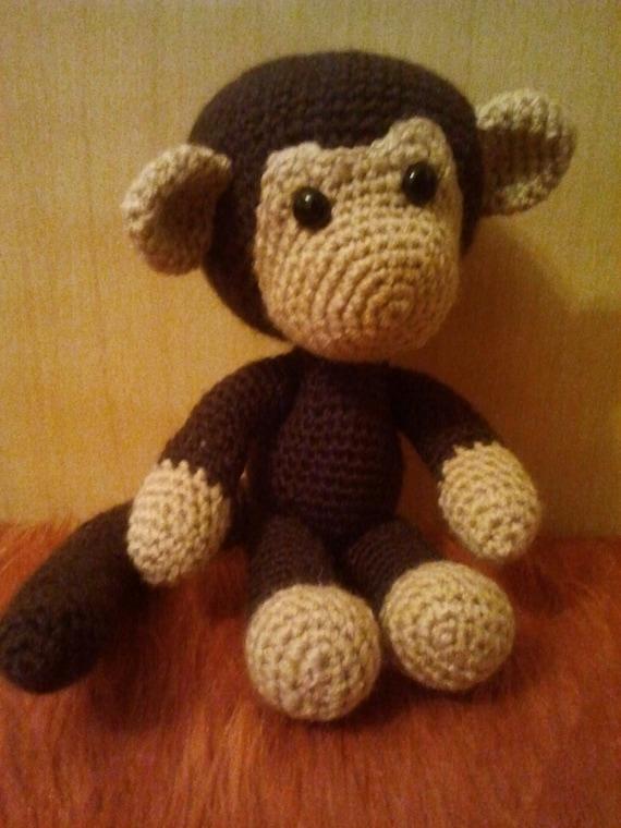 Amigurumi Toys For Babies : Crochet Monkey Stuffed Toys Amigurumi Monkey soft toy