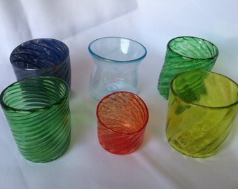Assortment of Small Drinking Glasses