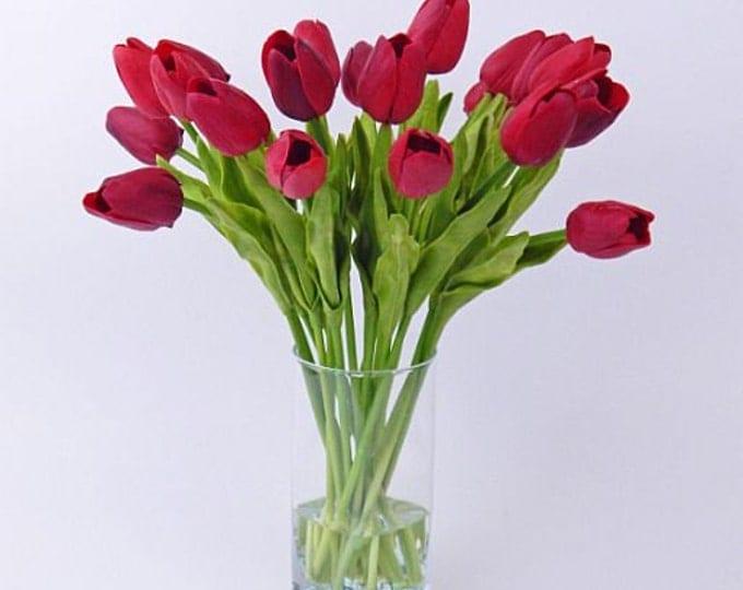 Tulips - Realistic Blooms . Floral Arrangements . Silk ...