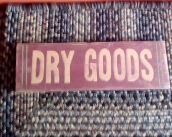 Dry Goods sign,wood sign,Rustic,Farmhouse