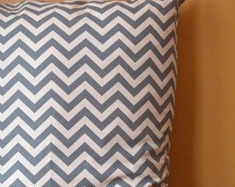 Chevron Dog Bed Cover, Gray dog bed, Gray Chevron, Zig Zag Dog bed cover