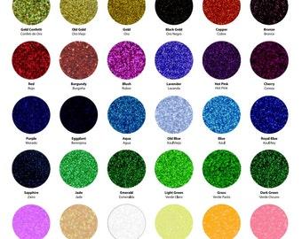 "Siser Glitter HTV RTS 12 x 10"" Sheets - Glitter Heat Transfer Vinyl"