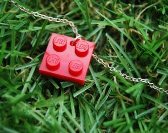 Red Brick Flat 2x2